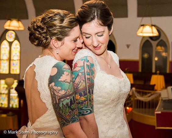 styling ideetjes voor bruid en bruidegom matching 2