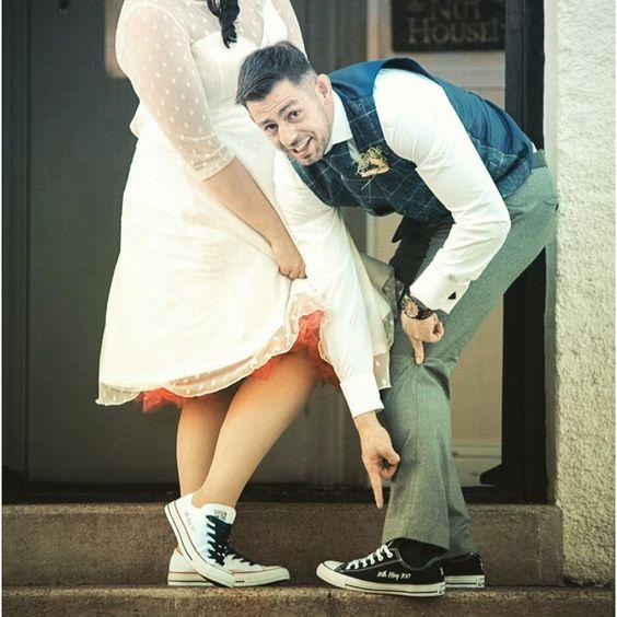 styling ideetjes voor bruid en bruidegom matching