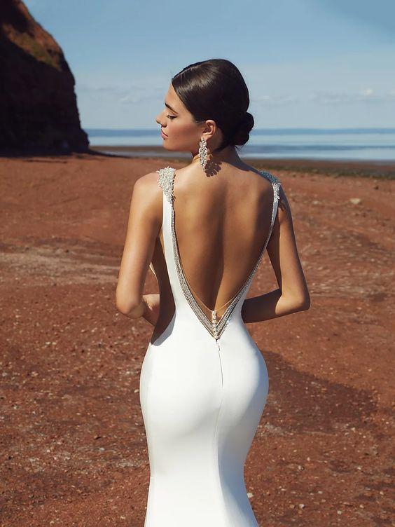 De mooiste trouwjurk met bijzondere rug