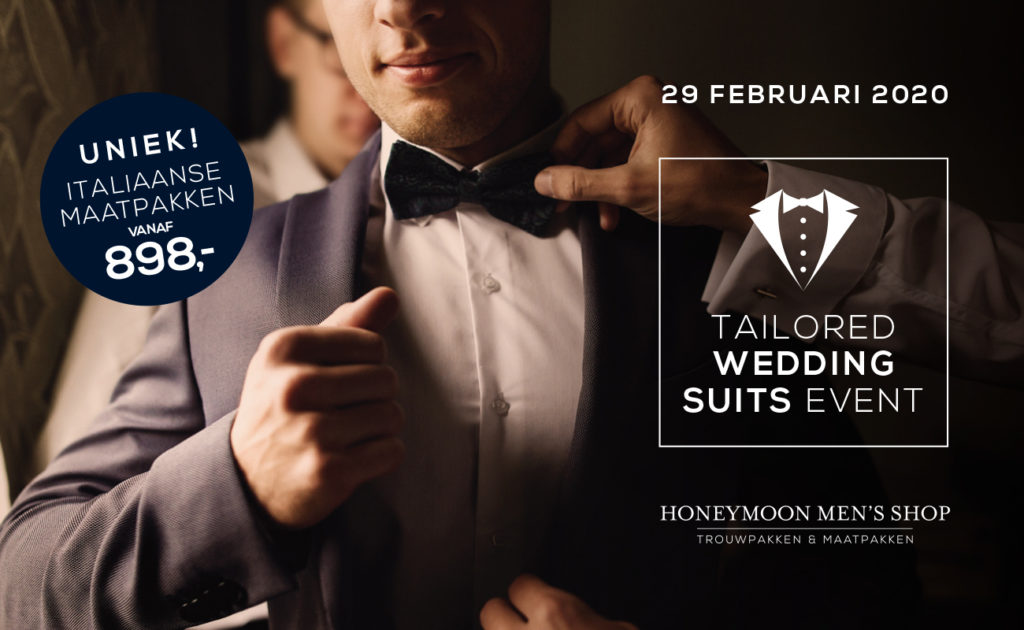taiolored suit event