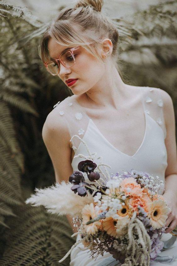 bruiden met brillen